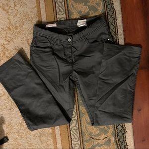 Laurel by escada Grey straight leg jeans